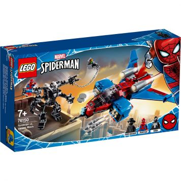 LEGO Marvel Spider-Man 76150 Spiderjet vs. Venom Mecha