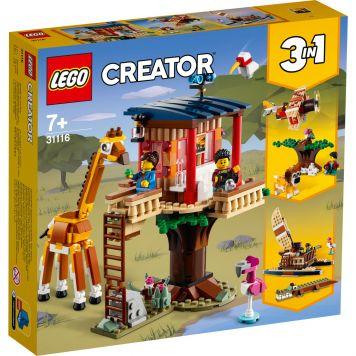 LEGO Creator 31116 3in1 Safari Wilde Dieren Boomhuis