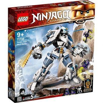 LEGO Ninjago 71738 Zane's Titan Mecha Battle
