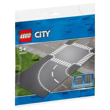 LEGO City 60237 Bocht En Kruising