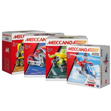 Meccano Junior Action Builds Assorti