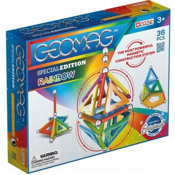 Geomag Special Edition Rainbow 36 Pcs