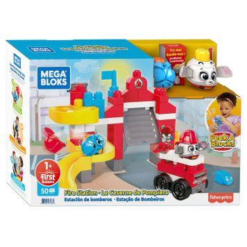 Mega Bloks Peek A Blocks Fire Station