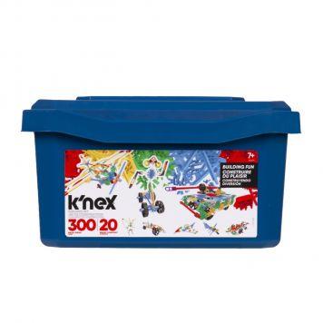 K'nex Classics 300 Stuks Building Set Blue Tub