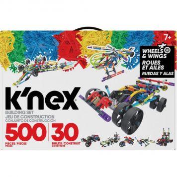 K'nex Classics 500 Stuks 30 Model Building Set  Wings And Wheels