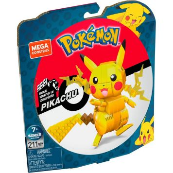 Fisher Price Mega Construx Pok Medium Pokemon Pikachu