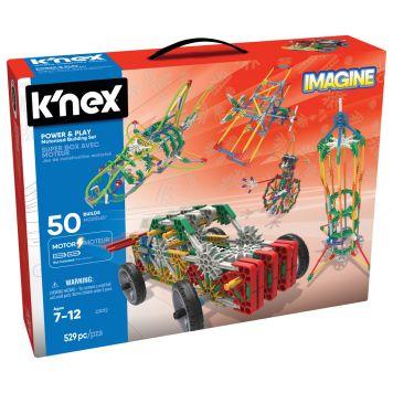 K'NEX Power And Play 50 Model Motorized
