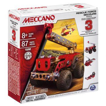 Meccano Brandweerwagen 3 Modellen