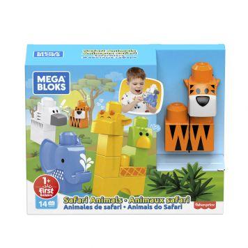 Mega Bloks First Builders Safari Animals