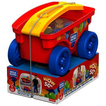 Mega Bloks Pull N Play Wagon