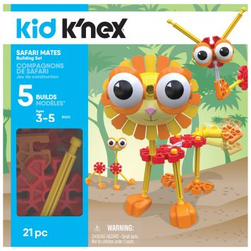 K'NEX Kid Safari Mates Building Set