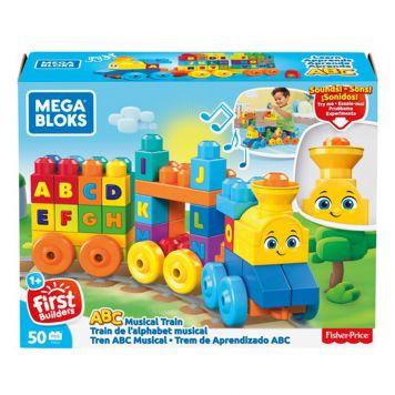 Fisher Price Mega Bloks ABC Leren Trein
