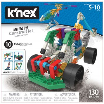 K'nex Building Set 10 In 1 Building Set