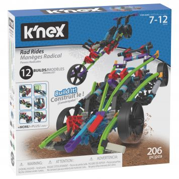 K'nex Building Sets Rad Rides 12 In 1 Building Set