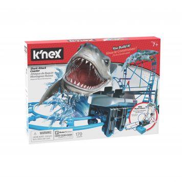 K'nex Thrill Rides Tabletop Thrills Shark Attack  Coaster