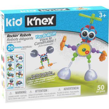 Knex Kid Rockin Robots Building Set