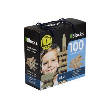 Bblocks 100 Delig In Doos Blank