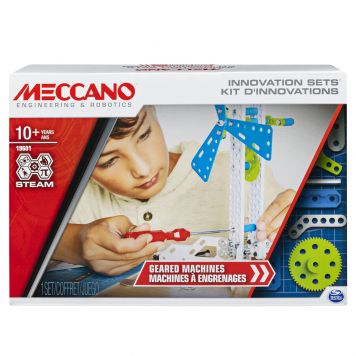 Meccano Set 3 Geared Machines