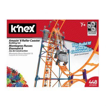 K'NEX Thrill Rides Space Amazin 8 Roller Coaster