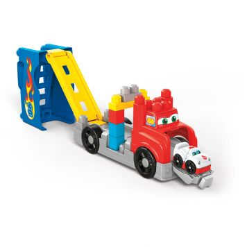 Fisher Price Mega Bloks Storytelling Bouw &  Race Rig