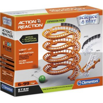 Action And Reaction Spiral Tracks Clementoni