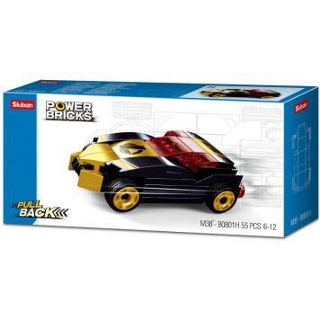 Sluban Power Brick Car Cold Black Winner