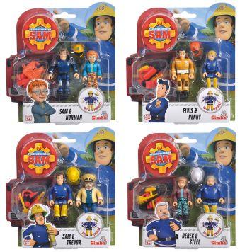 Brandweerman Sam Figuren 4 Assorti
