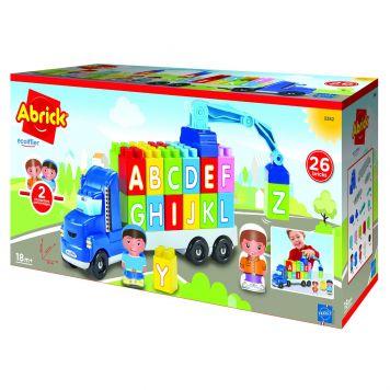 Vrachtwagen Met Blokken ABC