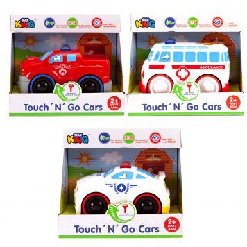 Auto Touch N Go Met Licht En Geluid 3 Assorti