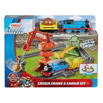 Thomas En Friends Trackmaster Cassie Crane en  Cargo Set
