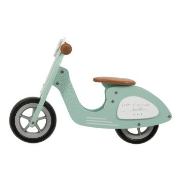 Houten Loopscooter Mint Little Dutch