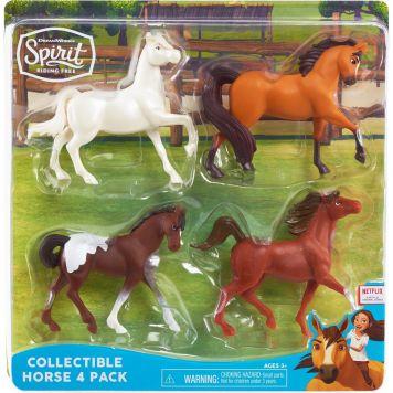 Spirit Set Van 4 Paarden