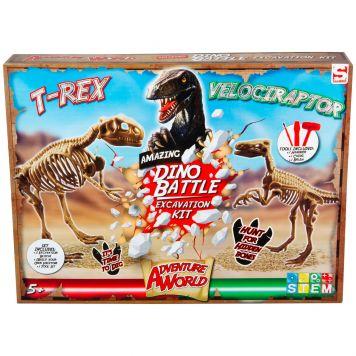 Uitbikken Dino Battle