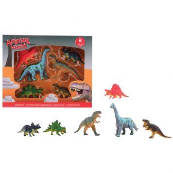 Dinosaurus Animal World 6 Assorti