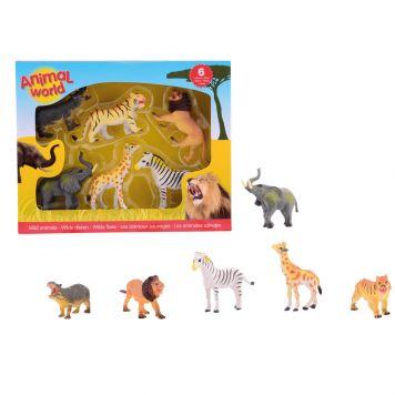 Wilde Dieren Animal World 6 Assorti