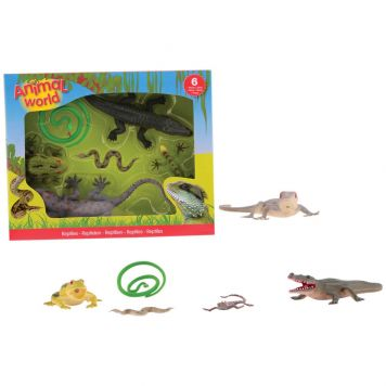 Reptielen Animal World 6 Assorti
