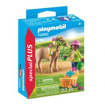 Playmobil 70060 Meisje Met Pony
