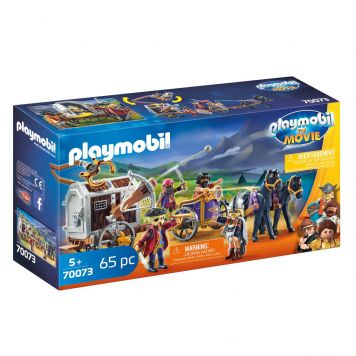 Playmobil 70073 The Movie Charlie Met Gevangeniswagon