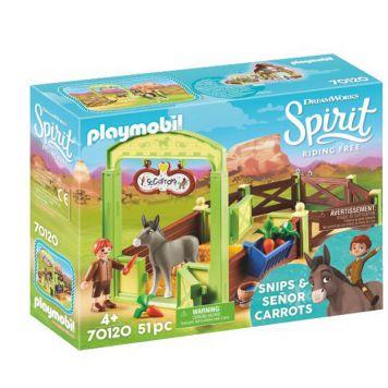 Playmobil 70120 Knip En Meneer Worteltjes Met Paardenbox