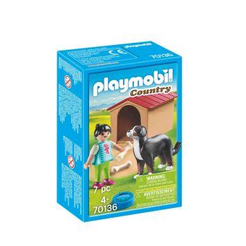 Playmobil 70136 Kind Met Hond