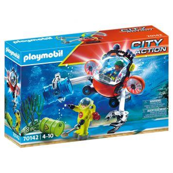Playmobil 70142 Redding Op Zee: Omgevingsmissie  Met Duikboot