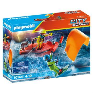 Playmobil 70144 Redding Op Zee: Kitesurfersredding  Met Boot