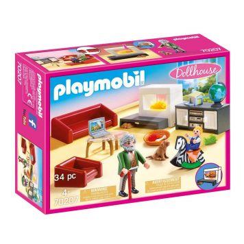 Playmobil 70207 Huiskamer Met Open Haard