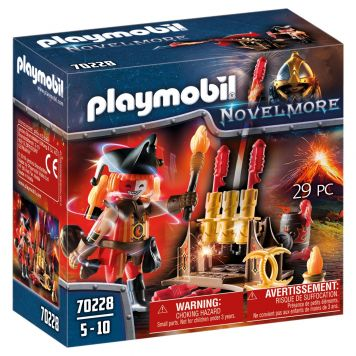 Playmobil Novelmore 70228 Vuurmeester Met Kanon