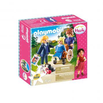 Playmobil 70258 Klara Met Vader En Juf Rottenmeier