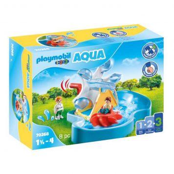 Playmobil 1.2.3 70268 Aqua Waterrad Met Carrousel