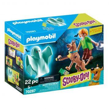 Playmobil 70287 Scooby-Doo! Scooby En Shaggy Met Geest