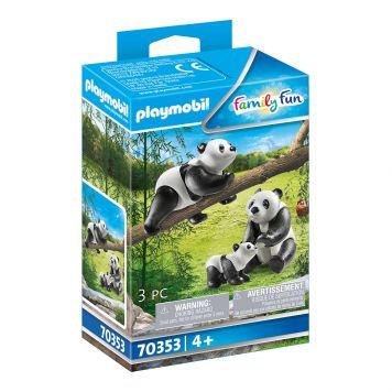 Playmobil 70353 2 Pandas Met Baby
