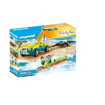 Playmobil 70436 Strandwagen Met Kano's