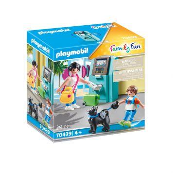 Playmobil 70439 Vakantiegangers Met Geldautomaat